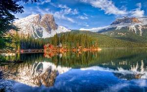 Nature, Hdr, Lake, Landscape, Canada, Reflection, Wallpapers, Hd, Desktop, And, Mobile, Backgrounds