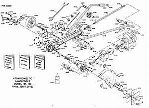 Atom 101  103  U0026 104 Edger Frame Parts List