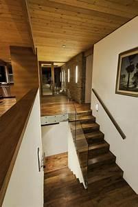 Escalier Droit Bois : escaliers en bois int rieur et ext rieur id es sur les designs ~ Premium-room.com Idées de Décoration
