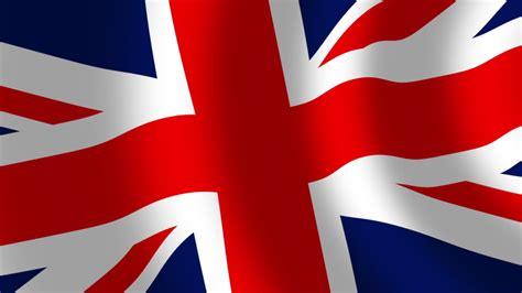 United Kingdom Union Jack Flag Stock Footage Video (100% ...