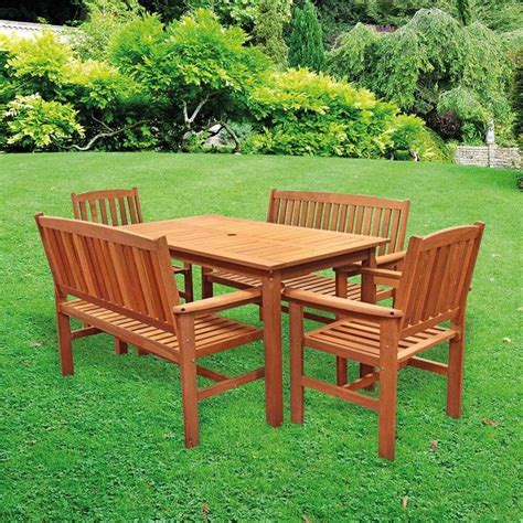 Garden Table Chairs by Tropicana 5 Garden Set Tj Hughes