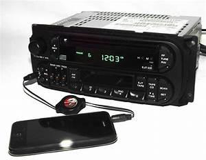 1998-2002 Chrysler Dodge Jeep Radio Am Fm Cd Cs Ipod Input P04858540 Twin 7 Raz