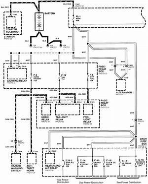 1995 Isuzu Bighorn Wiring Diagram 24480 Getacd Es