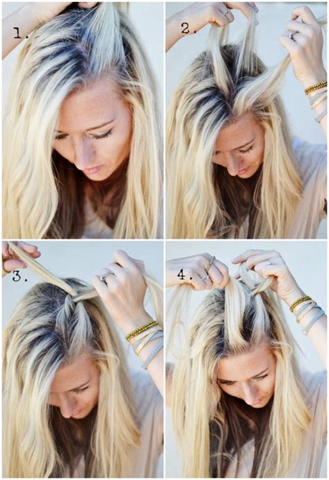 hair diy   side french braid  shine project