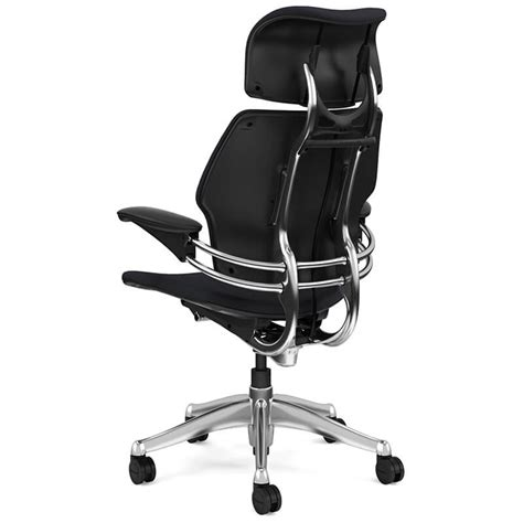 freedom task chair with headrest ergonomic seating from