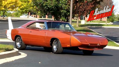 Test Drive 1969 Dodge Charger Daytona 440 V8   YouTube