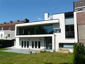 photo facade de maison moderne With idee facade maison moderne