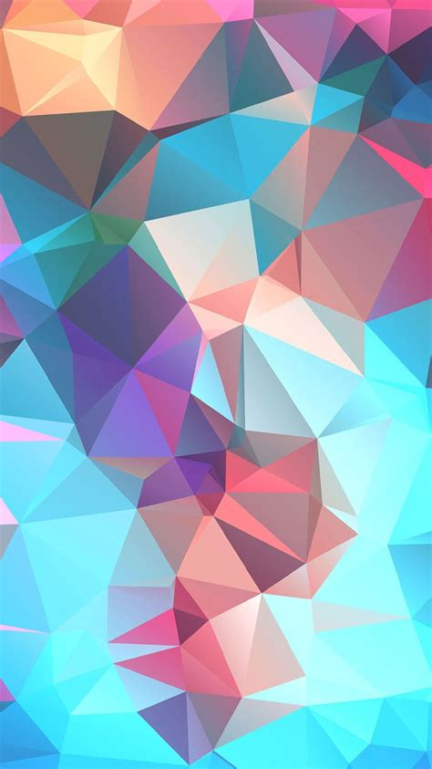 78 best geometric iphone wallpapers images on