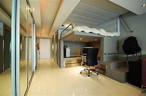 Jugendzimmer Mit Hochbett Gestalten : loft beds with desks underneath 30 design ideas with enigmatic touch ~ Bigdaddyawards.com Haus und Dekorationen