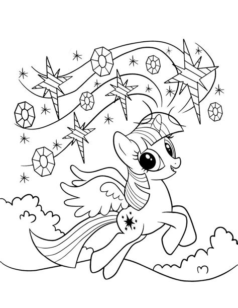 Twilight Sparkle Coloring Pages To And Print For Free Twilight Sparkle Coloring Pages To And Print For Free