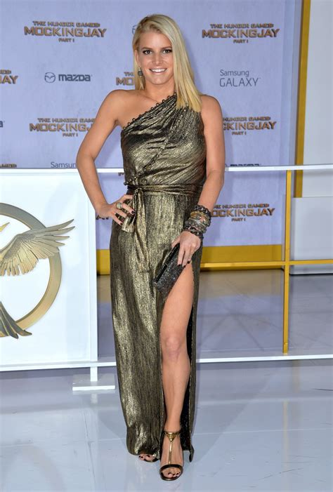 Jessica Simpson 'the Hunger Games Mockingjay Part 1