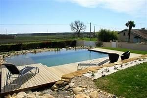 piscine naturelle prix infos pour bien la faire With prix piscine naturelle autoconstruction
