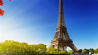 Nature Tower Eiffel Paris Sky Na16 Desktop