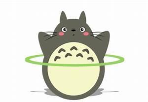 Totoro runs, does aerobics, and holds an impressive yoga ...