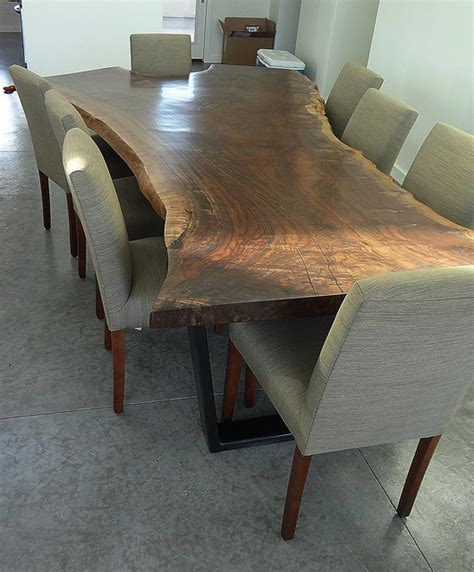 Claro Walnut Dining Table  Modern  Dining Room  Denver