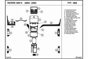 2005 Toyota Rav4 Dash Kits