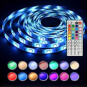 Led Stripes : len led strip lights 16 4 feet waterproof 150leds 5050 rgb light strip complete kit buy online ~ Watch28wear.com Haus und Dekorationen
