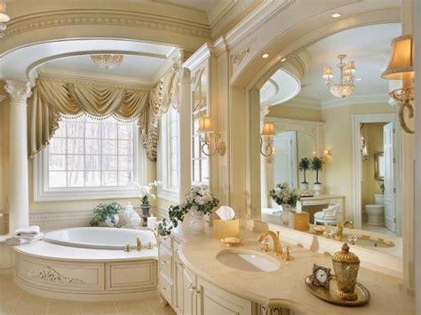 ornate cream  gold bathroom hgtv