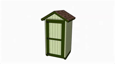 small storage shed plans youtube