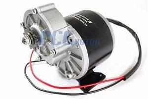 24v 350w Electric Motor W   Gear 9t Sprocket 24 Volt 350 Watt My1016z3 St11