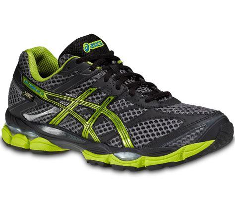 Nikman Sports Asics Gel asics gel cumulus 16 g tx running shoes black green