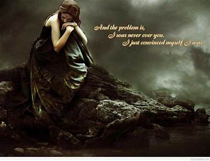Quotes Sad Wallpapers Quote Leav Lang Alone