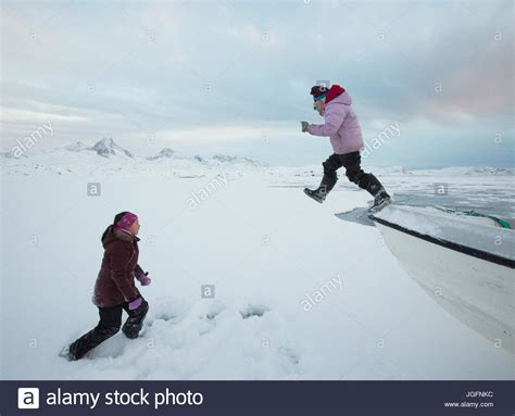 Family Murdered On Fishing Boat In Alaska by Inuit Girls Stock Photos Inuit Girls Stock Images Alamy