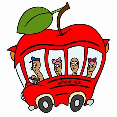 Clipart Bus Driver Driving Clip Quotes Apple
