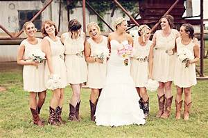 amazing collection of rustic wedding dresses with boots With rustic wedding bridesmaid dresses