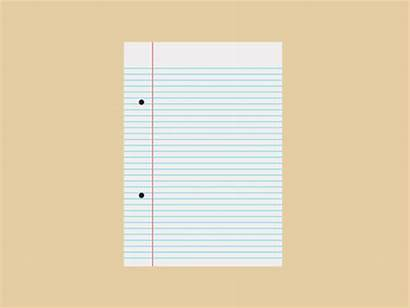 Animated Paper Notebook Clipart Giff Animation Thompson