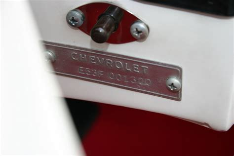 Chevrolet Number by 1953 C1 Corvette Ultimate Guide Overview Specs Vin