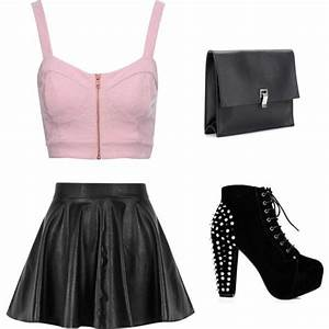 Edgy girl outfit   Girl outfits Outfit sets and Girls