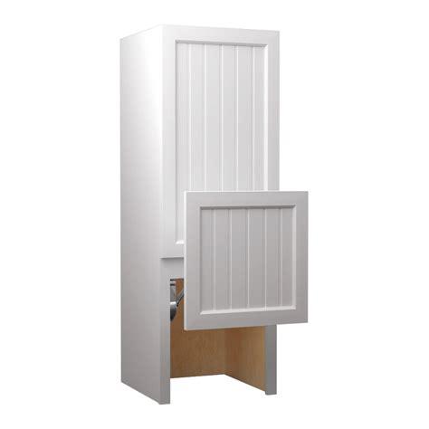 lowes bathroom storage cabinets shop kraftmaid storage cabinet common 18 in actual 18