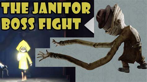 nightmares  janitor boss fight gameplay