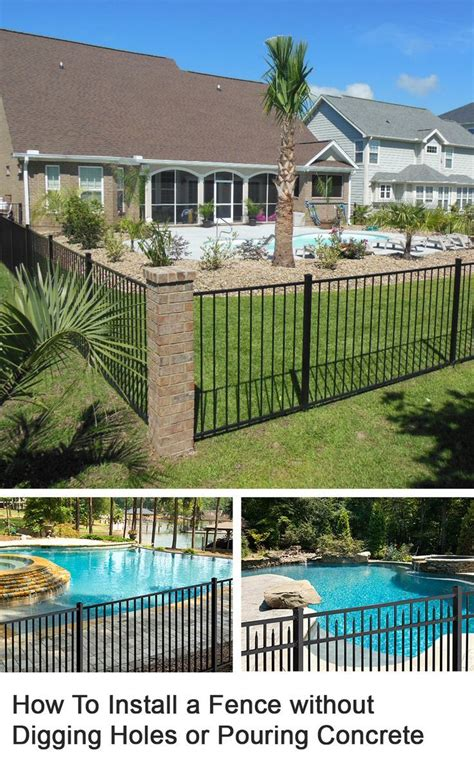 Backyard Pool Fence Ideas by 17 Best Images About Pool Fencing Ideas On