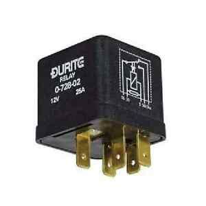 durite 12v 25 latching relay changeover 5 pin 0 728 02 ebay