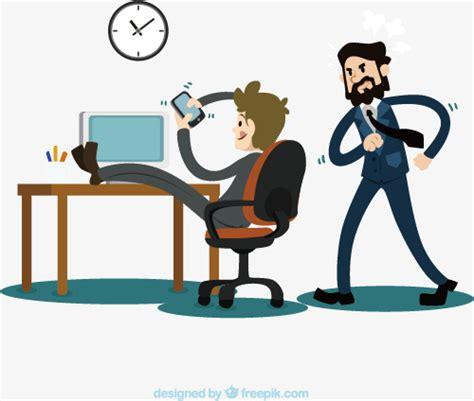 heures de bureau heures de travail sans creuser de vecteur bureau heures