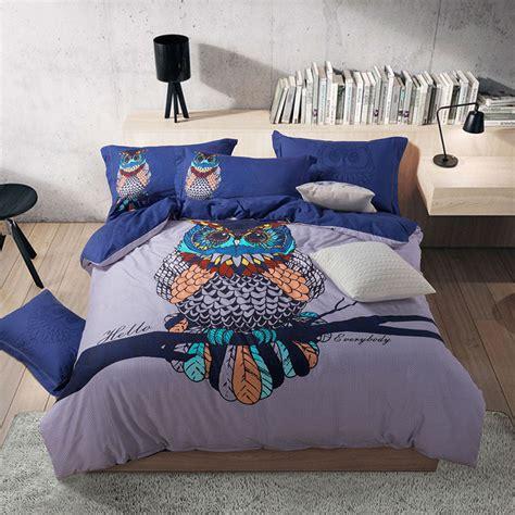 online get cheap owl comforter queen aliexpress com alibaba group