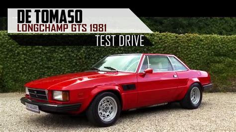 DE TOMASO LONGCHAMP GTS 1981 SCC - Test Drive in top gear ...