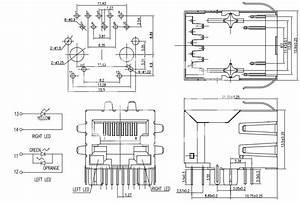 1x1 Poe Rj45 Modular Jack With Leds Id 5413523   Buy China