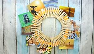 Make, A, Quick, Diy, Clothespin, Picture, Holder