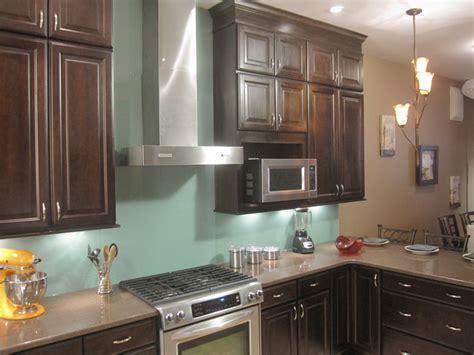 glass backsplash for kitchens how to install a solid glass backsplash how tos diy