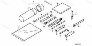 Honda Atv 2008 Oem Parts Diagram For Tools