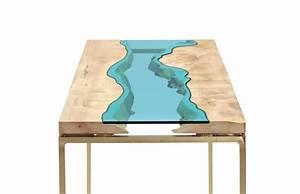 Holztisch Mit Glas : 15 mesas de cristal muy originales ~ Frokenaadalensverden.com Haus und Dekorationen