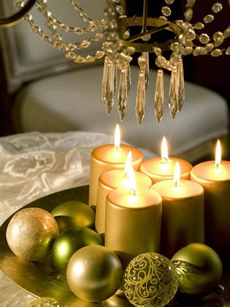 candles for christmas table diy christmas candle centerpieces 40 ideas for your table