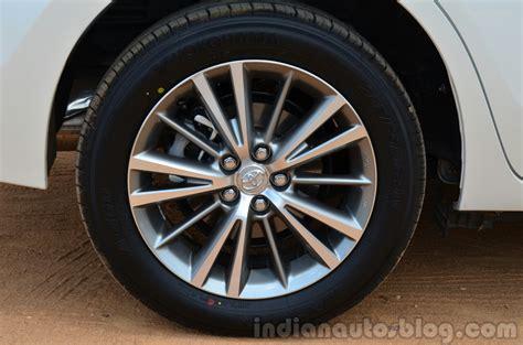 toyota corolla rims 2014 2014 toyota corolla altis diesel review wheel