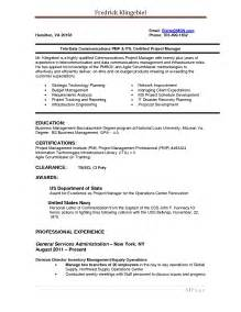 Software Delivery Manager Resume Sle by Project Manager Resume Format Doc 28 Images Resume