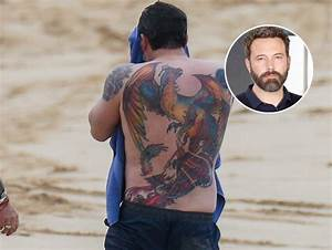 Ben Affleck's Massive, Very Real Phoenix Back Tattoo Gets ...