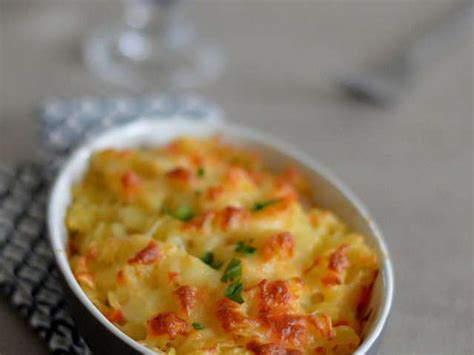recettes de gratin de pates et poulet