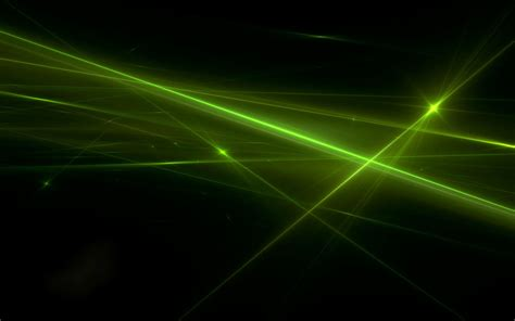Green Rays Abstract Background - Wallpaper #32821
